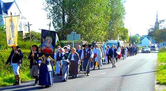 107e Pèlerinage Légitimiste de Sainte-Anne-d'Auray  Pelerinagesainteannedaurayuclf