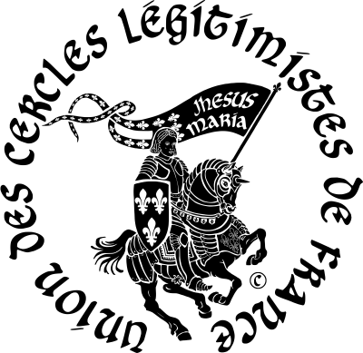 Site de l'Union des Cercles Légitimistes de France SceauUCLF-Noir