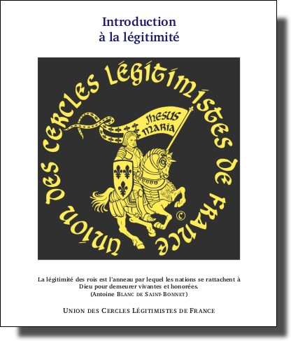 Introduction à la légitimité IntroductionLegitimite