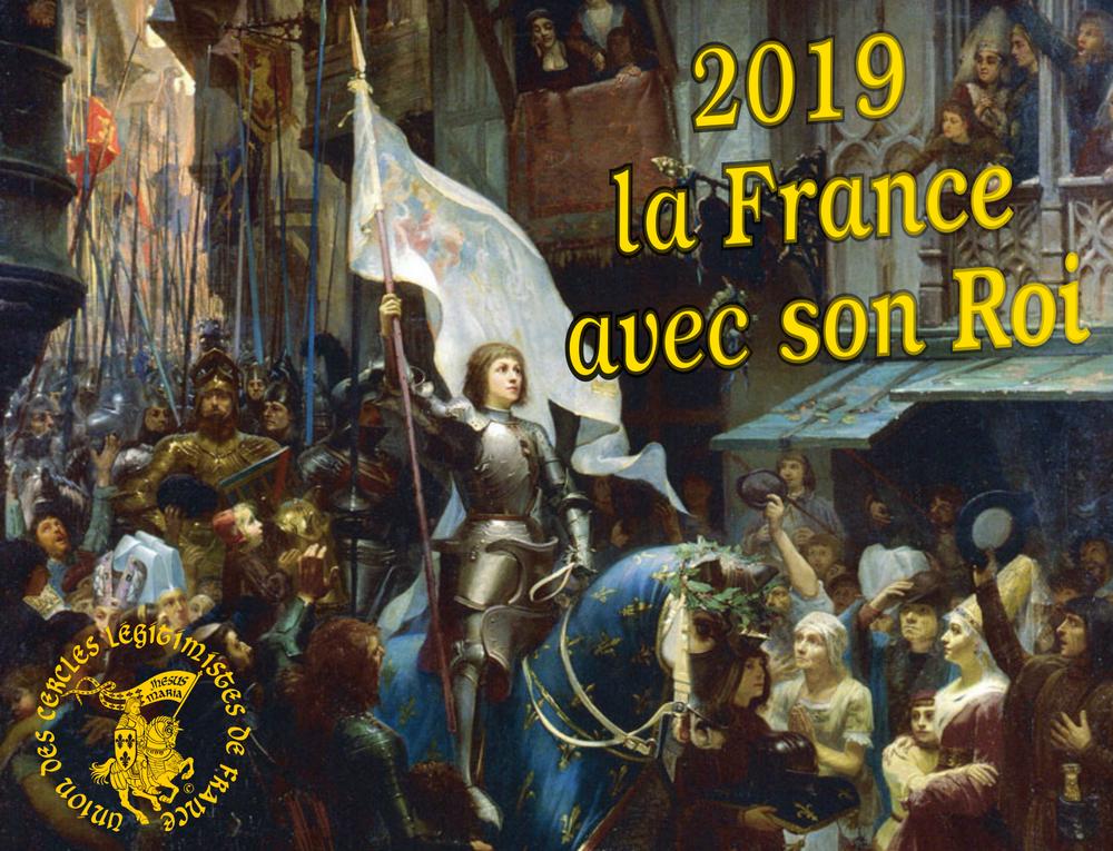 Site de l'Union des Cercles Légitimistes de France UCLF-Voeux-2019