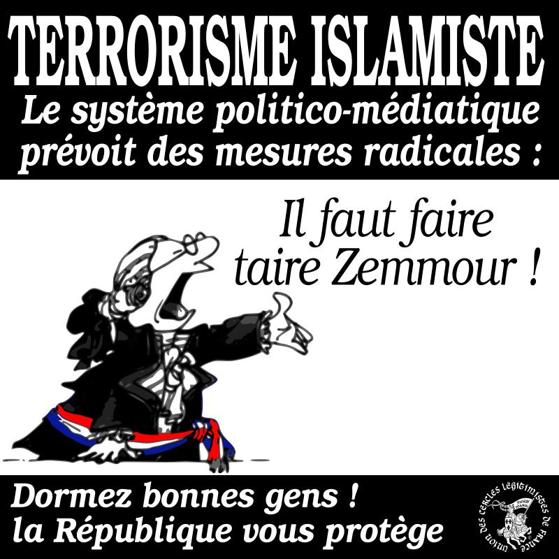 Terrorisme islamique, on prend enfin des mesures...